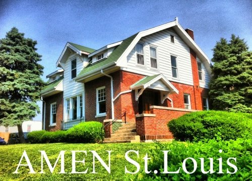 The AMEN house in St. Louis